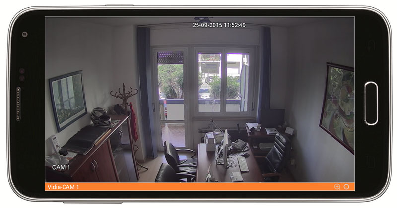 Videosorveglianza controllabile da smartphone tablet - Atlas Antifurti Milano